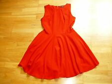 Ladies lovely USCO red skater dress size 12 excellent condition. v