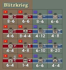 Avalon Hill Blitzkrieg Replacement Counters
