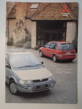 MITSUBISHI SPACE RUNNER & SPACE WAGON orig 1995 UK Mkt Sales Brochure
