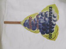 Fan Advertising, Wine Nights Saint Georges, Bunch of Grapes Moillard