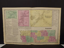 New York, Oneida County Map, 1874 Town of Deerfield, Double Page Z2#47
