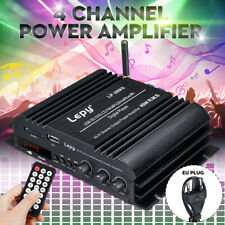 Lepy 269S HiFi bluetooth 4 Channel Stereo Power Amplifier FM Amp 19V 3A 180W  +