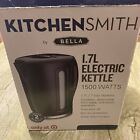 NEW Kitchen Smith by Bella 1.7L Electric Tea Water Kettle Auto Shut Off Open Box photo