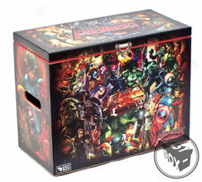Large Comic Book Hard Storage Box Chest MDF Avengers