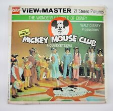View-Master Set Dinsey's The Mickey Mouse Club Mouseketeers H 9 - DT