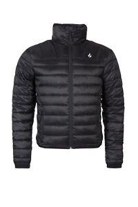 HEAT HOLDERS - Herren Männer Winter Warm Wasserdicht Schwarz Mantel Fleece