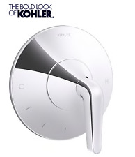 Kohler Tempered Single Handle Bathtub&Shower Faucet in Polish Chrome(Trim only)