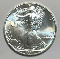 1994 1 oz Silver American Eagle Uncirculated Key Date 2nd Lowest Mintage