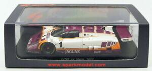 Spark Models 1/43 Scale S4717 - Jaguar XJR9 #1 Le Mans 1988 - Brundle/Nielsen