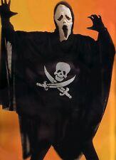 HALLOWEEN KOSTÜM TEUFEL SKELETT CAPE MASKE Scream Gr.S-XXL NEU