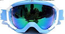NEW $120 Carrera Crest Womens winter snow ski White Blue Goggles Spy Roxy ladies