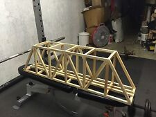 "KIT for 48"" G Scale Ceiling Railroad Truss Bridge"