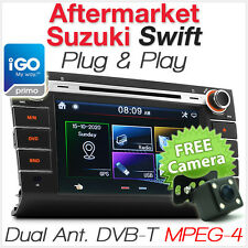 "8"" Suzuki Swift Car DVD Player GPS Digital TV DVB-T Head Unit Stereo Radio CD OZ"