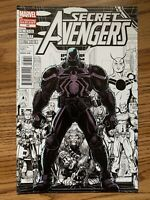 Secret Avengers #23 Second Printing Variant Marvel Comic Book Venom Sketch 2012