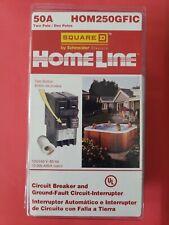Square D Homeline 50 Amp 2 Pole Gfci Circuit Breaker