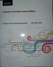 Politics of the Developing World POL SCI 2XX3 McMaster University Custom Edition