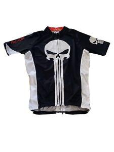 Paladin Men Short Sleeve Cycling Bike Jersey Spawn Black Size Medium