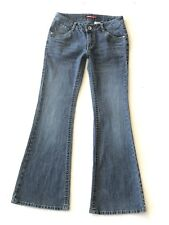 Union Bay Girls Flare Jeans with Embroidered Back Pockets Size 14 Regular