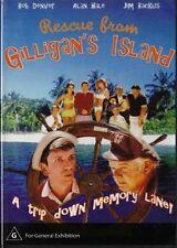 RESCUE FROM GILLIGAN'S ISLAND - BOB DENVER - NEW & SEALED DVD