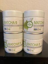 Aiya America Matcha Ceremonial Grade- 4 Cans of 30g (1.5oz)!