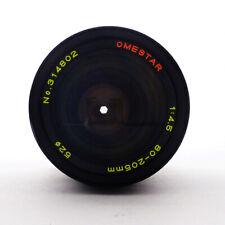 Omestar 80-205mm F4.5 Mamiya E Mount lens