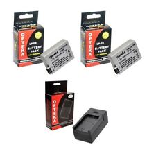 Camera Batteries for Canon , Charger Included