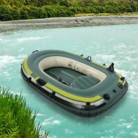 2 Person Small Inflatable Boat Boating For Fishing Rowing Air Boat Drifting Raft