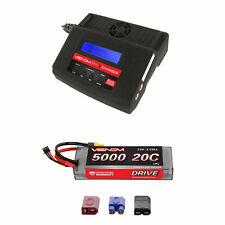Venom 20C 2S 5000mAh 7.4V LiPo Battery with Pro 2 Charger Combo