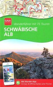 REISEFÜHRER Wanderführer Schwäbische Alb 75 Touren, Ausg. 2021/22 NEU 240 Seiten
