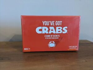 You've got Crabs Party Card Board Game New & Sealed Ages 7+ 4-10 Players