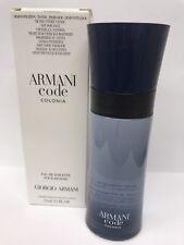 Armani Code Colonia By Giorgio Armani EDT 2.5 oz. Brand New In Box - Tstr