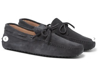 Tod's  Gommino Gray Suede Driving Shoes Size UK 9.5 /US 10.5