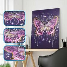 Butterfly 5D Full Drill Diamond Painting Embroidery Cross Stitch Kit Rhinestone