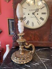 Nice Vintage Plaster Candlestick Lamp Base