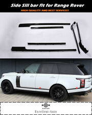 6pcs Door Side Sill Moulding Bar Trims Fits for Land Rover Range Rover 2013-2020