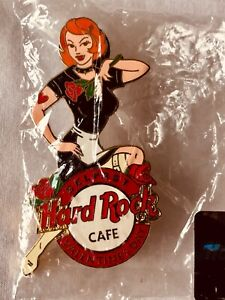 Hard Rock Cafe Pin Valentines Day Belfast UK 2004 Scarce Rare