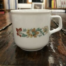 Vintage Ak Kaiser Small Coffee Cup Demitasse Tea Cup West Germany Floral Flower