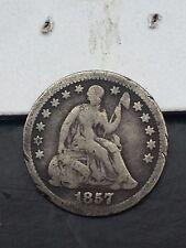 TYPE COIN 1857 O Seated Liberty HALF DIME silver US coin G VG YOU GRADE IT
