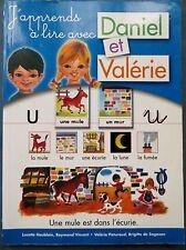 Daniel et Valérie, méthode de lecture traditionnelle, 2006