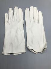 Vintage Ladies Dress Gloves White