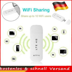 4G 3G USB Modem Dongle Reiseauto LTE WCDMA USB Modem mit SIM-Kartensteckplatz DE