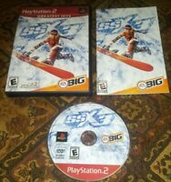 PS2 SSX 3 Complete w/ Book Tested PlayStation 2 Video Game Greatest Hits Version