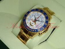 Rolex Yacht-Master II 18kt Yellow Gold 44mm Oyster Regatta Chronograph 116688