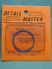 Detail Master DM#1075 Custom Ignition wire (Violet) 1/24th scale 4 ft. in length