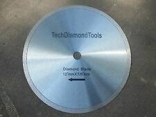 Diamond   continuous rim general proposal  SAW BLADE 12 inch