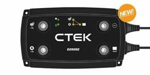 CTEK Dual Input DC to DC Smart Battery Charger D250SE 12V 20A 40-315