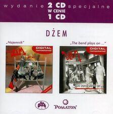 2CD DŻEM / DZEM Najemnik / The band plays on.. R. RIEDEL
