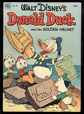 Four Color (1942) #408 1st Print Donald Duck And The Golden Helmet Carl Barks VG
