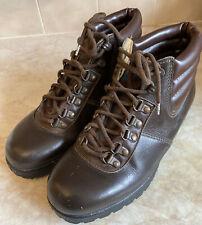 Gripfast Famous Army Stores Ladies Walking Czechoslovakia Leather Boots Size 6