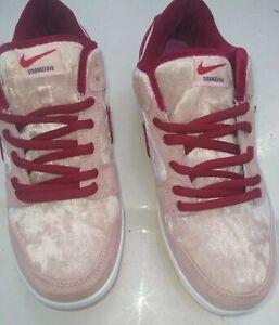 Brand New Nike SB Strangelove's low dunks US 11.5 Men's, Pink/Red